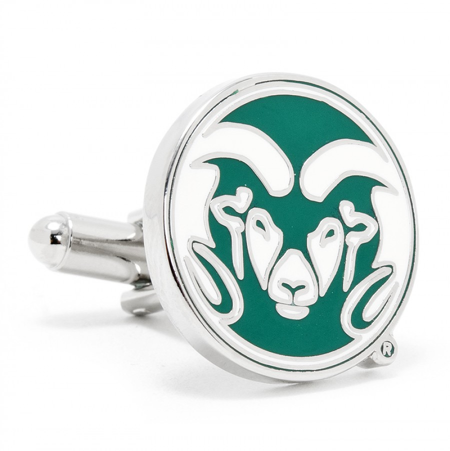 Colorado State University Rams Cufflinks.jpg