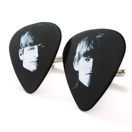 George and Ringo The Beatles Cuff 1.JPG