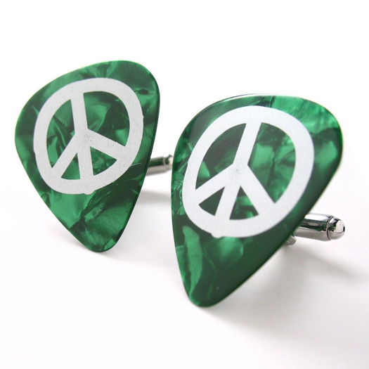 Green Peace Sign Cuff 1.JPG