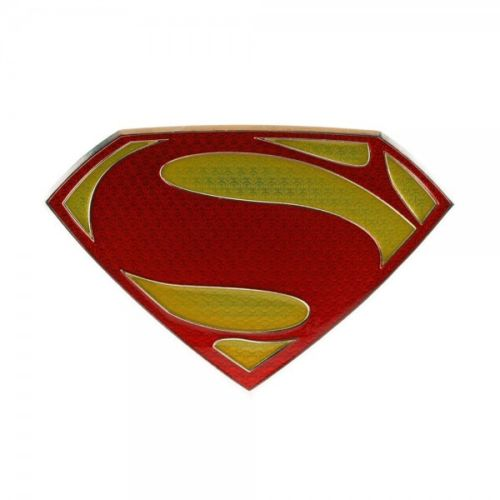 Man of Steel Superman Belt Buckle.JPG