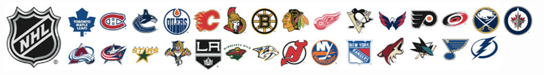 Men's Ties - NHL