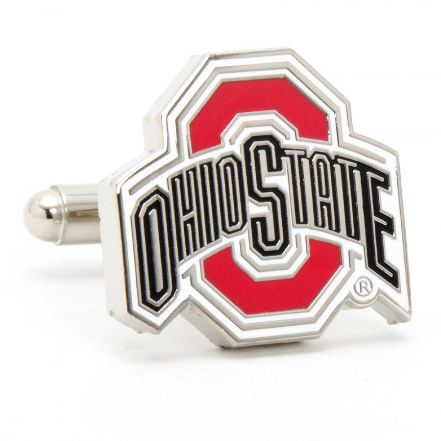 Ohio State University Buckeyes Cufflinks.jpg