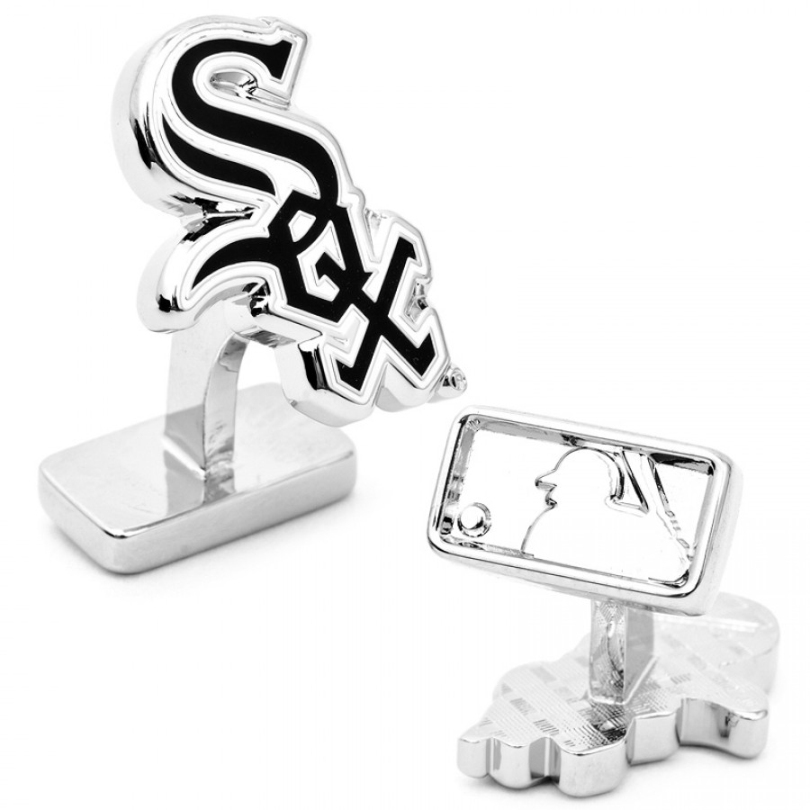 Palladium Edition Chicago White Sox Cufflinks 1.jpg