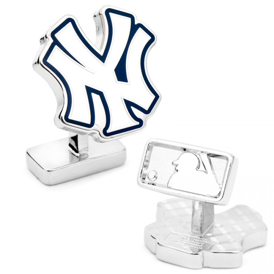Palladium Edition New York Yankees Cufflinks 1.jpg