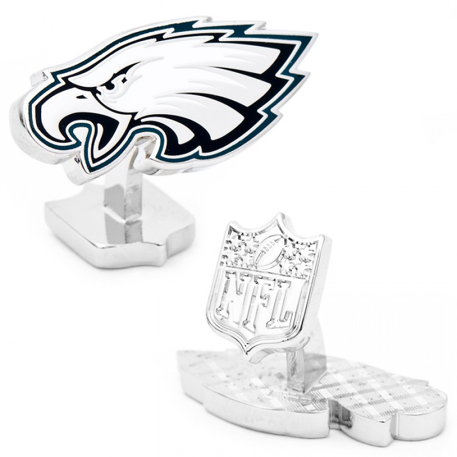 Palladium Edition Philadelphia Eagles Cufflinks1.jpg