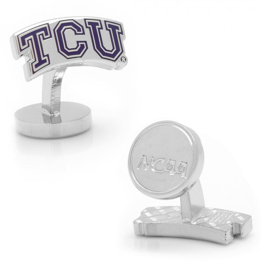 Palladium TCU Horned Frog Cufflinks1.jpg