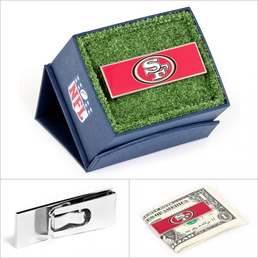 San Francisco 49er's Money Clip1.jpg