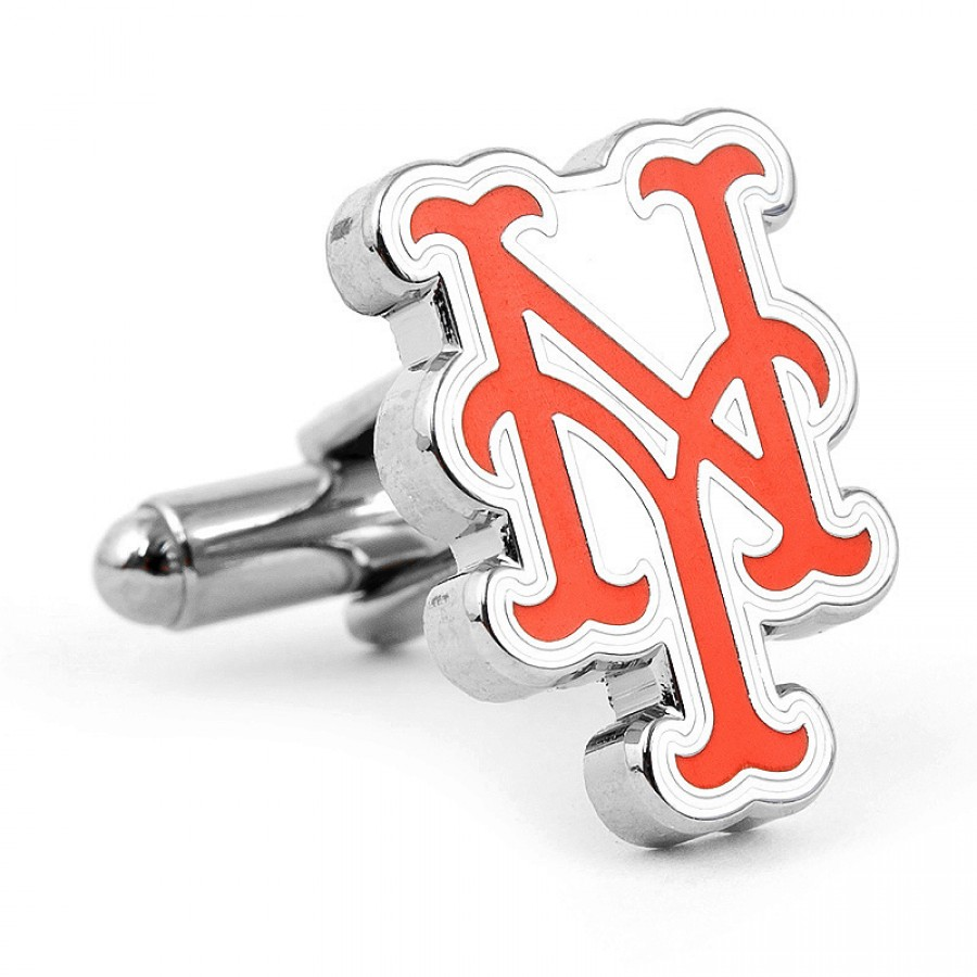 Silver New York Mets Cufflinks 1.jpg