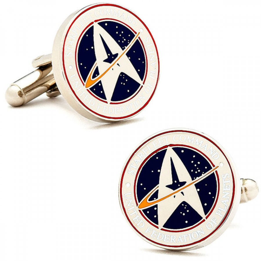 Star Trek Starfleet Command Cufflinks 1.jpg