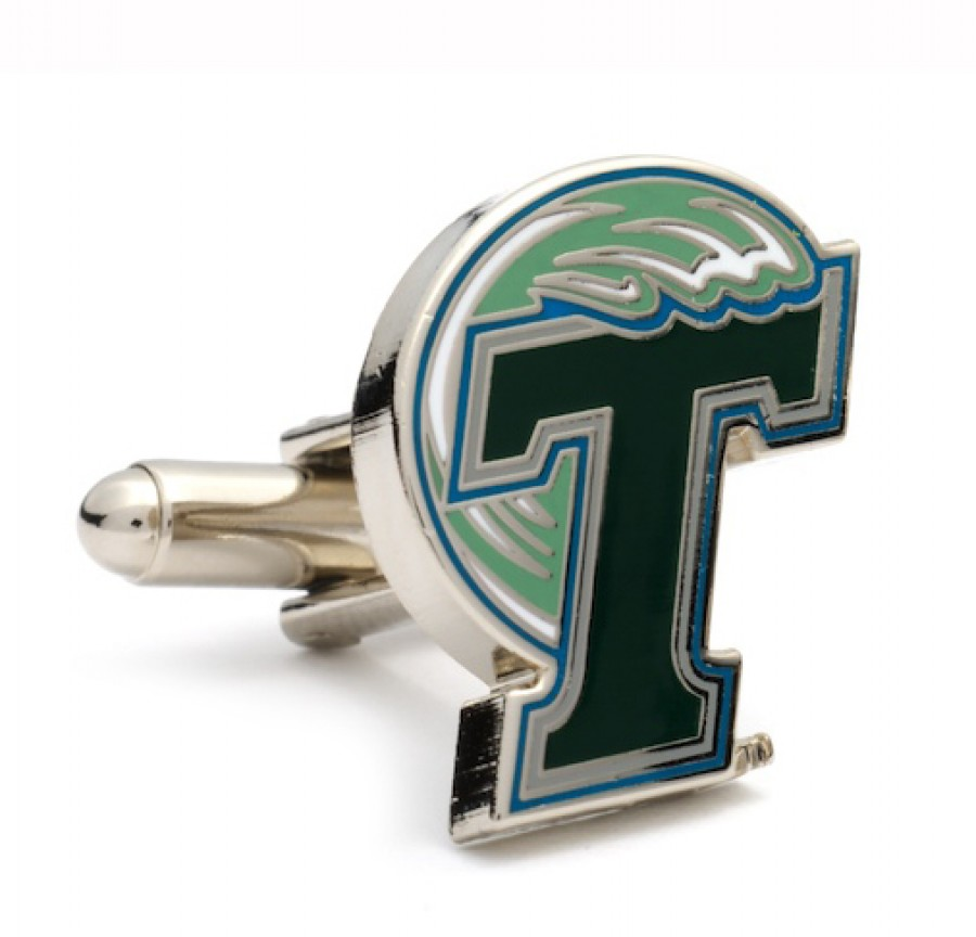 Tulane Green Wave Cufflinks1.jpg