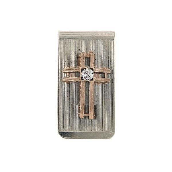 rose gold cross money clip.JPG