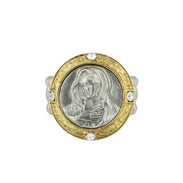silver and gold mary ring.JPG