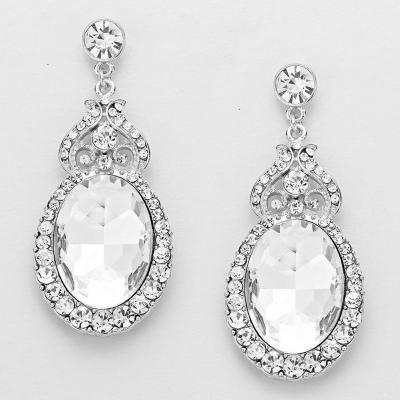 Perfect Pageant Silver Dazzle Earrings.JPG