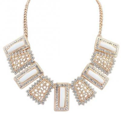 Rose Gold Tone Anna Beth Sparkle Collar Necklace.JPG