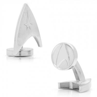 Silver Delta Shield Cufflinks 1.jpg