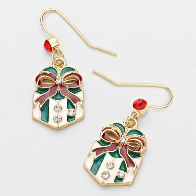 festive green and red gift earrings.JPG