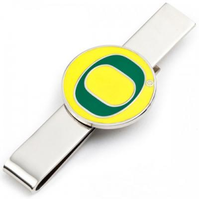 oregon ducks tie bar.jpg