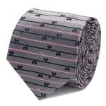 Mickey Mouse Striped Gray Tie.jpg