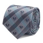 Superman Gray Plaid Tie.jpg