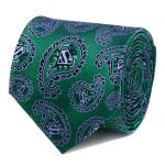 Superman Green Paisley Tie.jpg