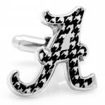 University of Alabama Houndstooth Cufflinks1.jpg